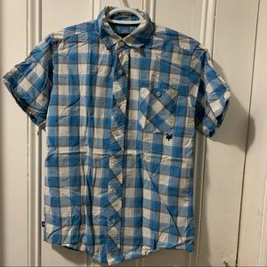 Zoo York s/s button up, size small